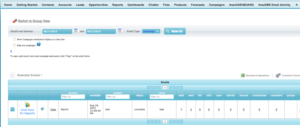 Using the itracMarketer App in Salesforce
